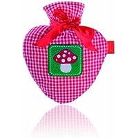 Fashy 6512 Herzwärmflasche mit Karobezug 0.7 L preisvergleich bei billige-tabletten.eu