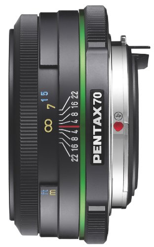 Get Pentax 70mm f/2.4 DA Limited Lens for Pentax and Samsung Digital SLR Cameras Review