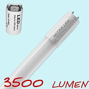 Mitra led lampada tubolare led mm 24 watt g13 for Lampada tubolare led