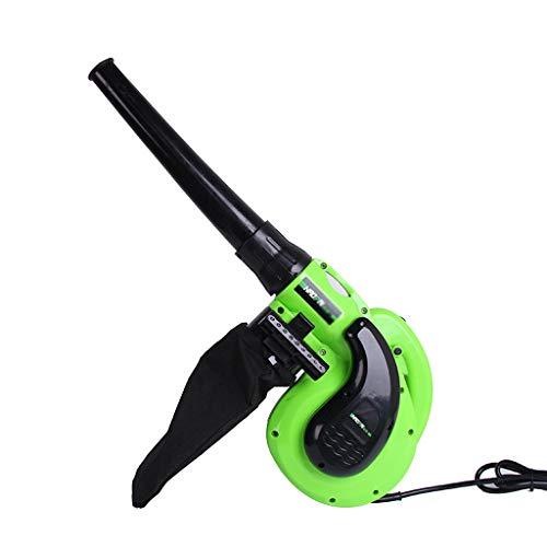 LaubbläSer Elektrisch Verkabelt - Mini Tragbares GebläSe - Haushaltsstaubsauger - mit Staubbeutel - 1080W - GrüN