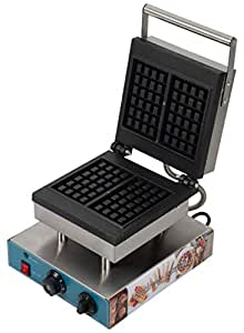 andrew james Rectangle Waffle Baker for Commercial use Sandwich Waffle Machine