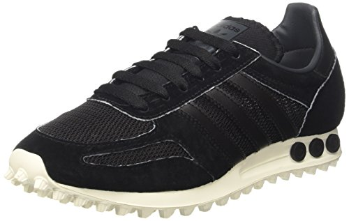 adidas-mens-la-trainer-og-low-top-sneakers-blue-9-uk-black-cblack-cblack-dkgrey-9-uk