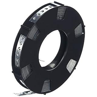 DON QUICHOTTE Lochband 12 mm verzinkt 10 Meter auf einer Rolle in Plastikbox, 1 Stück,900927