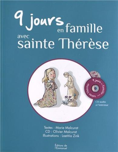 9 jours en famille avec sainte Thérèse : Livre + CD