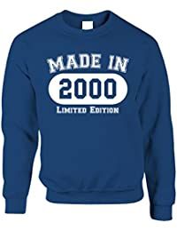 e9f12205 Tim And Ted 18th Birthday Jumper Sweatshirt Made in 2000 Limited Edition