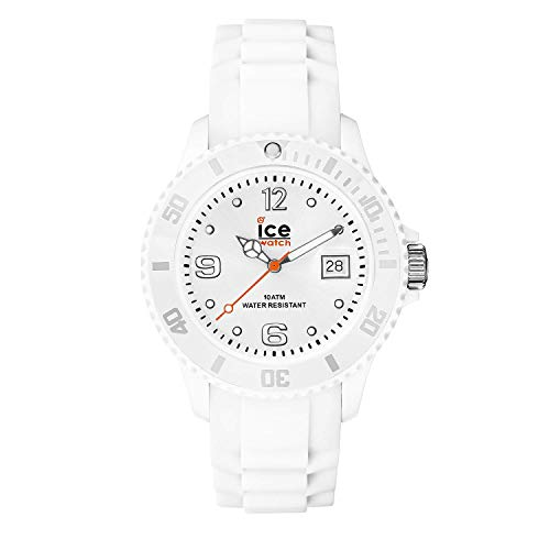 Ice-Watch - Ice Forever White - Weiße Damenuhr mit Silikonarmband - 000124 (Small) -