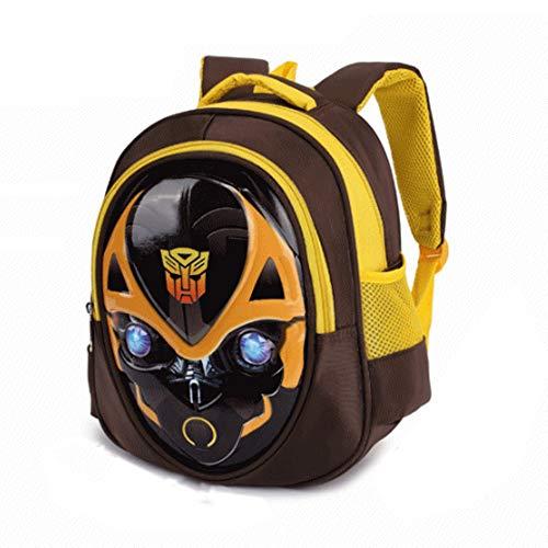 ormatoren Captain America Kinder Schulrucksack Teens Rucksäcke Für Jungen Und Mädchen Schultaschen,Bumblebee-30 * 26 * 12cm ()