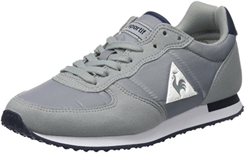 Le Coq Sportif Unisex Erwachsene Onyx Nylon Sneaker  Grau (Limestone Gris)  38 EU