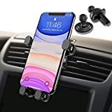Syncwire Car Phone Holder - Gravity Linkage Mobile Phone Holder Auto Lock 360° Rotation Universal Air Vent Car Cradle Phone Mount for iPhone X/ 8/7/ 6 Samsung S10 S9 HTC Sony Huawei P30 and Others