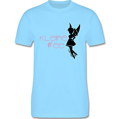 Statement Shirts - Kleine Fee - Herren Premium T-Shirt Hellblau