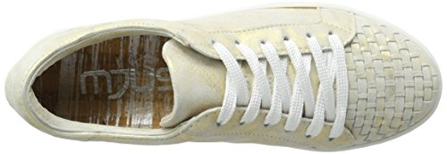 Mjus - 876107-0202-6102, Scarpe da ginnastica Donna Gold (Oro)