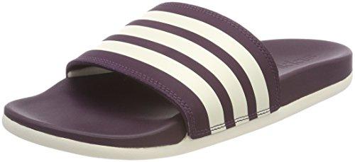 b94be8bc14a922 8. adidas Damen Adilette Cloudfoam Plus Stripes Aqua Schuhe