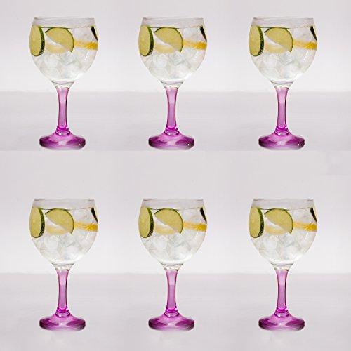 Copas de balón Gin Tonic Angalina Rossi ©, 6 unidades
