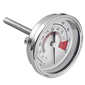 Easy Provider 174 Barbecue Bbq Pit Smoker Grill Thermometer