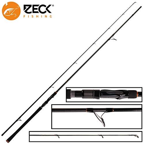 Zeck Pro Pike 2,70m 80g Spinnrute, Angelrute zum Hechtangeln, Raubfischrute für Kunstköder, Hechtrute zum Spinnfischen, Jigrute