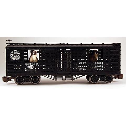 BAC98701 98701 Animated Stock Car D&RG w/Horses G by Bachmann Trains by Bachman