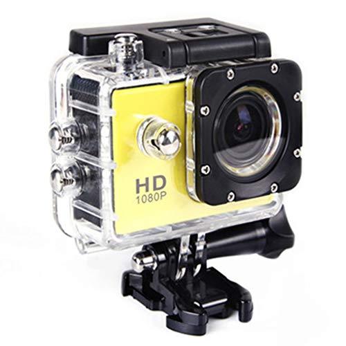 2,0-Zoll-Dual-Screen-WiFi-Sport-DV-Action-Kamera wasserdichte Kamera Black Extended Battery Support