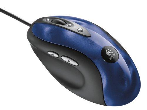 Logitech MX510 Optical Mouse USB, PS2 -