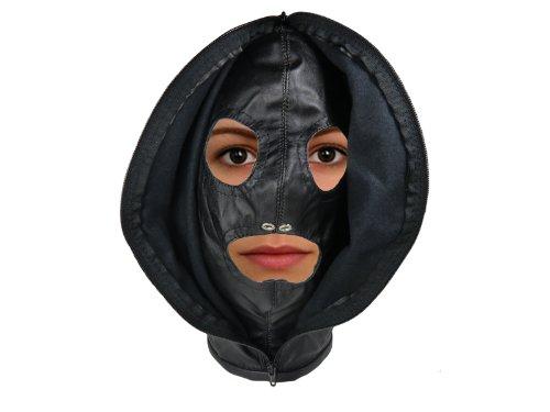 Original EDD Sklavenmaske mit Reißverschluss 0123