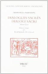 Dialogues sacrés dialogi sacri : Premier Livre