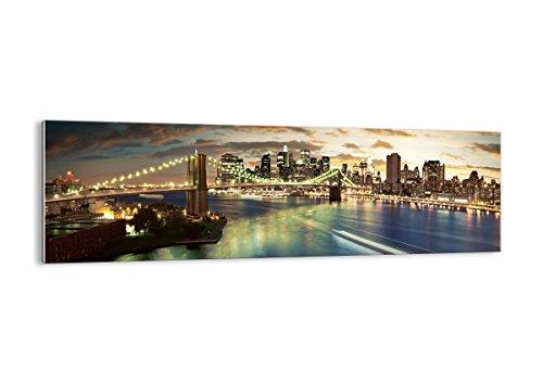 Bild auf Glas - Glasbilder - Einteilig - Breite: 160cm, Höhe: 50cm - Bildnummer 0226 - zum Aufhängen bereit - Bilder - Kunstdruck - GAB160x50-0226
