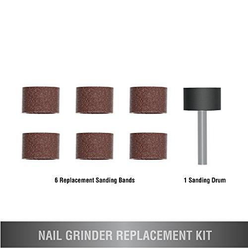 Wahl Professional Animal Classic Nagel glatter Ersatz Kit # 5961–100 (Ersatz Clipper Nail)