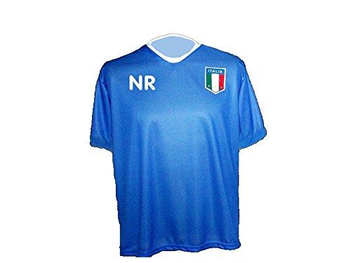 Italien Trikot mit Wunschname Nummer Größe XXL -
