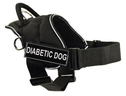 dt-divertimento-al-cane-di-stoviglie-diabetici-di-cane-nero-con-ornamento-retroriflettenti-grande-ad
