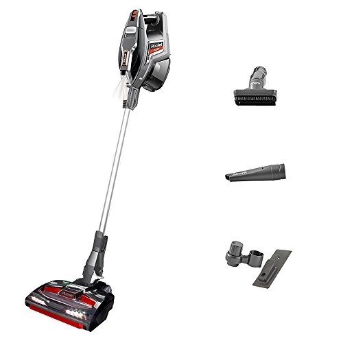 Shark HV380UK DuoClean Corded Stick Vacuum Cleaner, Charcoal Grey