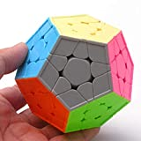 DishyKooker Cube Speed Megaminx Magic Cube Stickerless Speed Puzzle Cubes Kid Giocattolo educativo rompicapo Puzzle Toy Show
