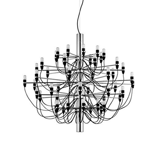 euchte Led Zweig Kronleuchter Luxus Wohnzimmer Esszimmer Dekoration Hängelampe Leuchten Leuchte, 30 Köpfe, Splitter farbe boby ()