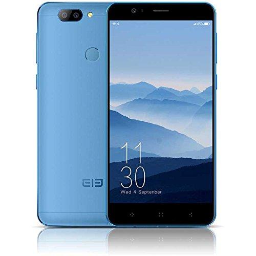 Elephone P8 Mini Smartphone 4G Libre Android 7.0 Nougat (MT6750T Octa-Core Ram 4GB Memoria 64GB Pantalla FHD 5 Pulgadas) - Azul