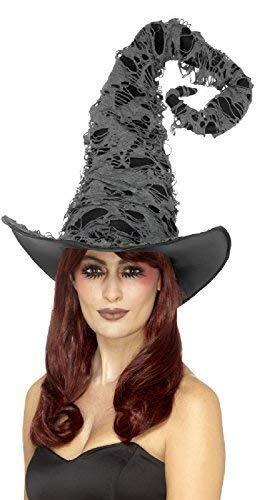 Kostüm Sorcier - Fancy Me Damen Herren Deluxe Hoch Hexe Zauberer Sorcier Bann Caster Halloween Horror Unheimlich Kostüm Kleid Outfit Hut