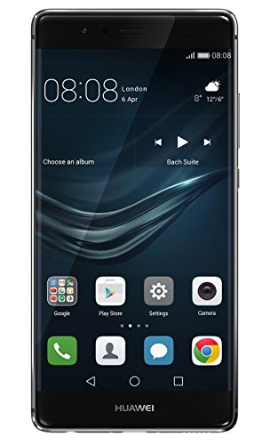 Huawei P9 Smartphone (13,2 Cm (5,2 Zoll) Touch Display, 32gb Interner Speicher, Android 6.0) Titanium Grau