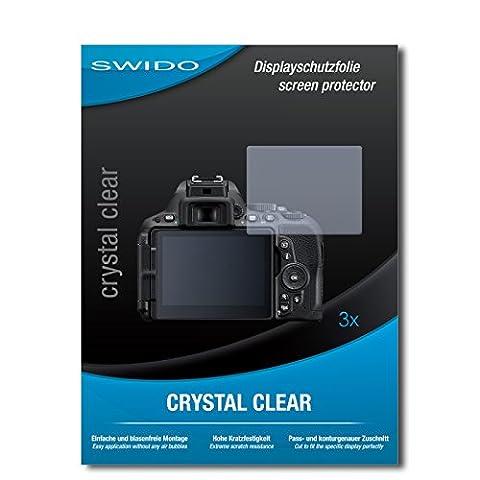 3 x SWIDO film protecteur Nikon D5500 protection d'écran feuille