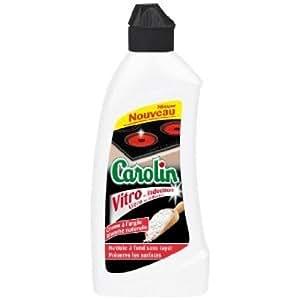 Carolin - Crème Vitrocéramique - 230 ml - Lot de 2