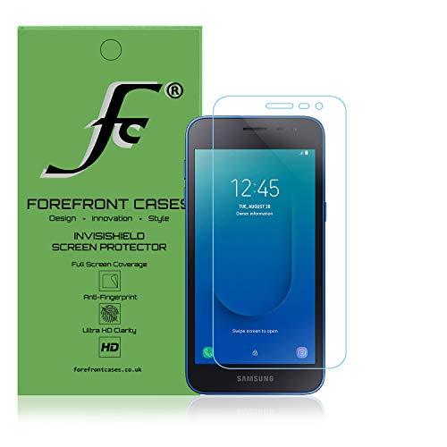 Forefront Cases Protector Hidrogel de Pantalla para Samsung Galaxy J2 Core [1 Unidades] | Cubierta de Pantalla Completa | Protección Irrompible, Autocurativa y Antihuellas | Sensibilidad Táctil