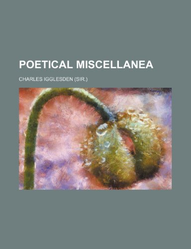 Poetical miscellanea