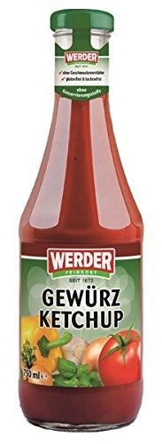 Preisvergleich Produktbild WERDER Gewürz Ketchup 750 ml