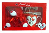 #8: Gifts OnlineTM Valentine Special Gift Box - I Love You Mug With Cute Teddy - Best Valentine Gift