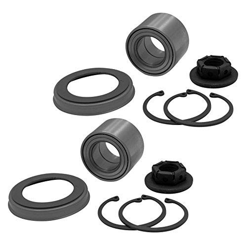 Preisvergleich Produktbild 2x Radlager Radlagersatzmit magnetischem ABS-Sensorring hinten Hinterachse links rechts