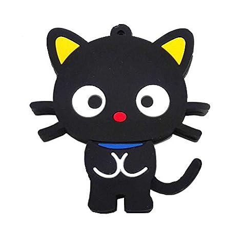 Aneew 16GB Pendrive Animal Cartoon Black Cat Model USB Flash Drive Pendrive Memory Thumb Stick