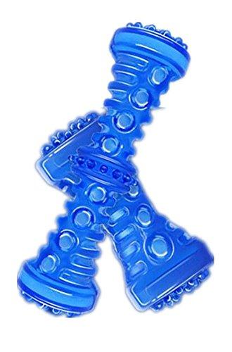 giocattoli del cane osso durevole dei denti masticare duro pulizia