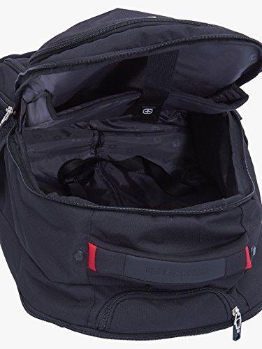 "Swiss Gear 18.5"" Rolling Computer Backpack 38 L Trolley Laptop Backpack (Black) Image 4"