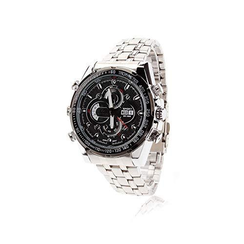 EFISH Mini Camcorder Versteckte Spionagekamera Watch Full HD 1920 * 1080P IR Nachtsicht Armbanduhr DVR Sprachaufzeichnung Uhren 16 GB Video-aufzeichnung Dv-uhr