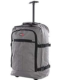CABIN GO cod. MAX 5520 trolley - Mochila para equipaje de mano/cabina de viaje liviana. - 55 x 40 x 20 cm, 44 litros - con ruedas. Aprobado vuelo IATA/EasyJet / Ryanair