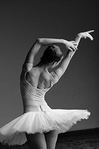 Postereck - Poster 0873 - Ballerina, Tutu Tanz Musik Sport Ballett Frau Ruecken Größe 3:2-30.0 cm x 20.0 ()