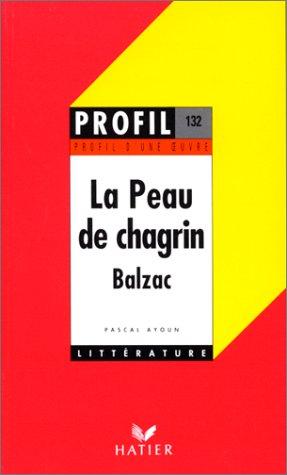 Profil d'une oeuvre : La peau de chagrin de Balzac