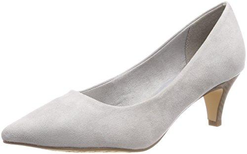 Tamaris Damen 22415 Pumps, Grau (Grey), 35 EU