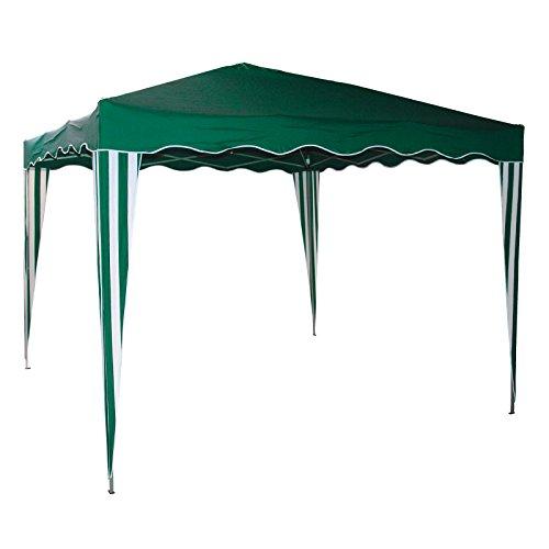 Alu Faltpavillon Grün
